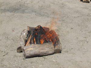 Vatra za kuvanje riblje čorbe