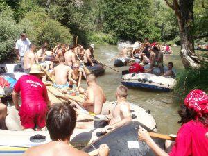 Rafting Splavarenje na reci Ibar : sa zapadne strane planine Kopaonik na potezu opština Leposavić -> Raška