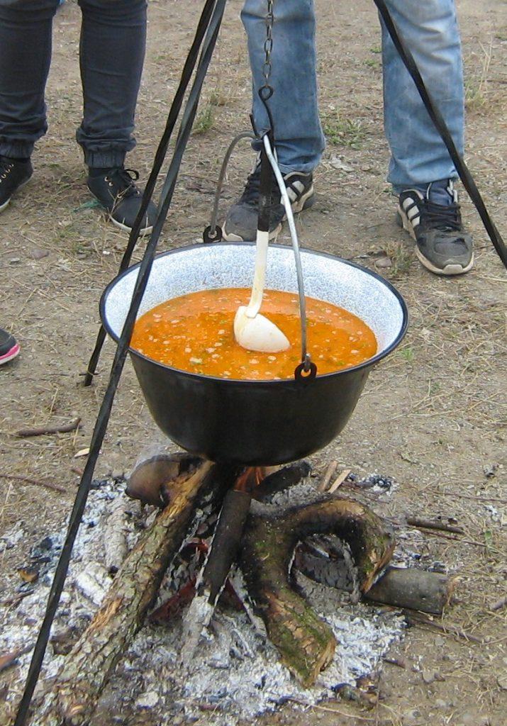 procedura takmicenja kuvanja riblje corbe pod kopaonikom na ibru u srbiji