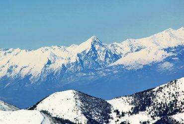 Đeravica-Prokletije 2656 mnv vidjena sa Šar Planine